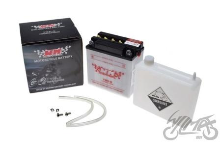 Akumulator WM MOTOR YB9-B 12Volt