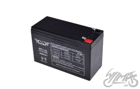Akumulator żelowy 7AH WM MOTOR 12V