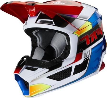 KASK FOX JUNIOR V-1 YORR blue/red