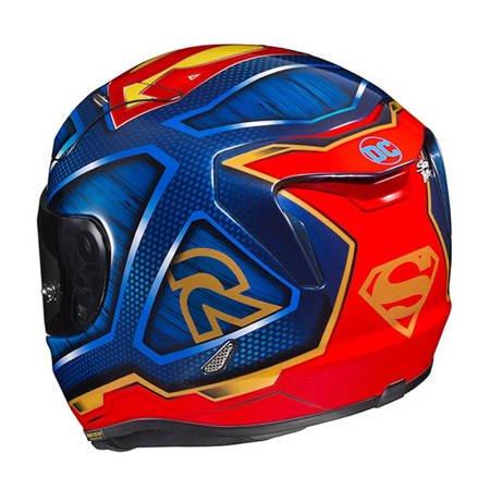 Kask HJC R-PHA-11 SUPERMAN DC COMICS niebiesko czerwony