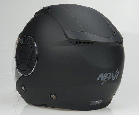 Kask otwarty NAXA S23 B czarny mat