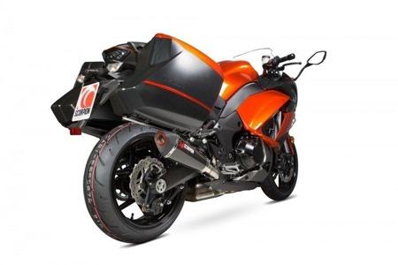 Kawasaki Z1000 SX 14/17 Serket Taper Slip-on (Pair) Carbon RKA108CEO