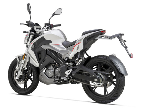 Motocykl KEEWAY RKF 125I (CBS) EURO4 Biały 2021