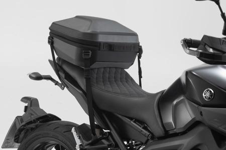 Plastikowy kufer centralny URBAN ABS do mocowania za pomocą pasków, 16-29L, SW-MOTECH