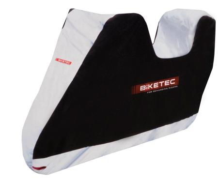 Pokrowiec wodoodporny na motocykl z kufrem BIKETEC AQUATEC XXL