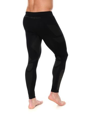 Spodnie termoaktywne męskie BRUBECK DRY czarna
