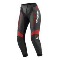 Damskie spodnie skórzane SHIMA MIURA 2.0 czarno czerwone