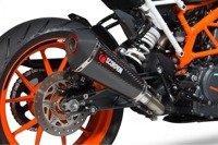 KTM Duke 390 17/18 Serket Taper Slip-on CARBON  RKT83CEO