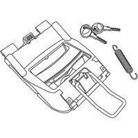 Mechanizm zamykania/lock system do kufrów SHAD SH40/SH45